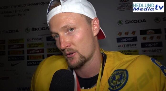 Anton Strålman tre kronor ruotsi