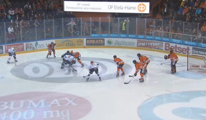 HPK FPS liiga mestis hockey night