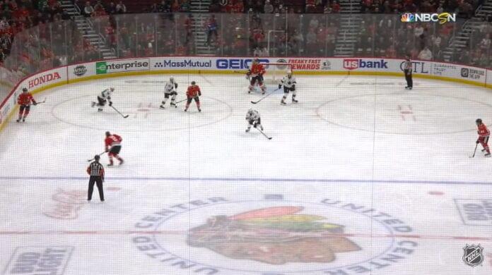NHL yleisökeskiarvot Chicago Blackhawks