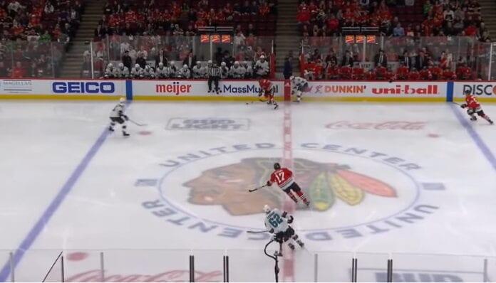Chicago Blackhawks logo nimi nnhl