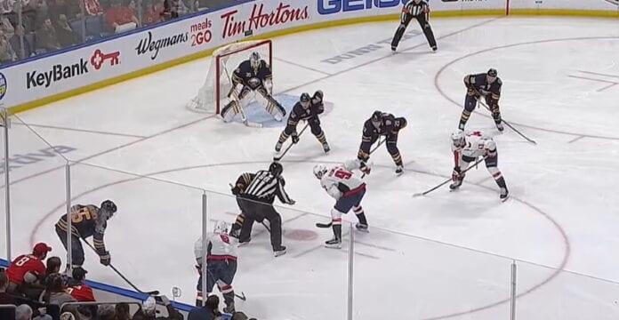 NHL jääkiekko washington capitals buffalo sabres