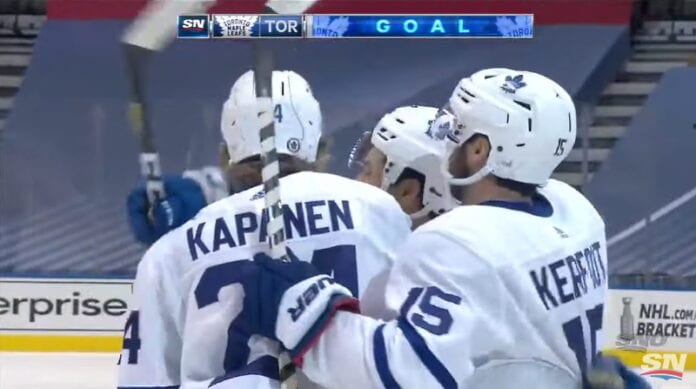 Kasperi Kapanen toronto maple leafs playoffs nhl