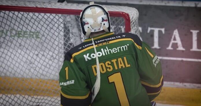 Lukáš Dostál Ilves lähtee Anaheim Ducks