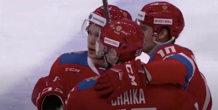 Venäjä - Leijonat eht karjala-turnaus
